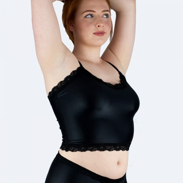 Charlie Cami Top in Black Front Variation