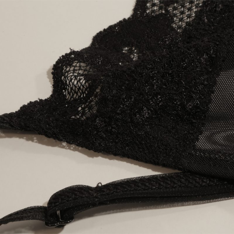 Close up Black Mesh