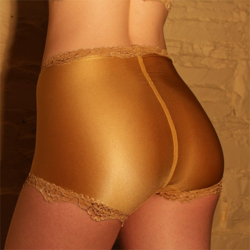 Paula Gold Knickers Back