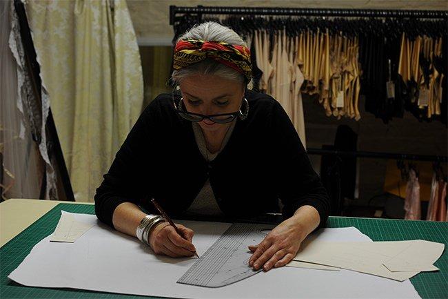 Designer Ali Wheeler Pattern Grading Jean Hot Knickers