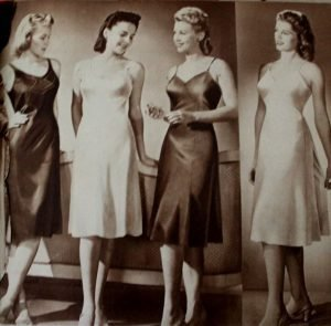 Women Wearing Slips In The 1940's