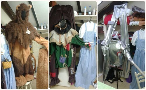 A Gallery Of Bespoke Wiz of Oz Costumes