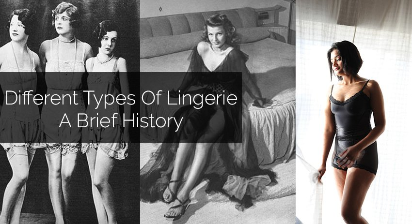 Featured Image For Blog Post Different Types Of Lingerie (A Brief History)