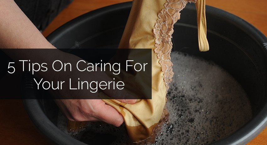 Featured Image For Lingerie Blog: How To Care For Your Lingerie